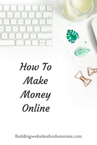 How can I make money online