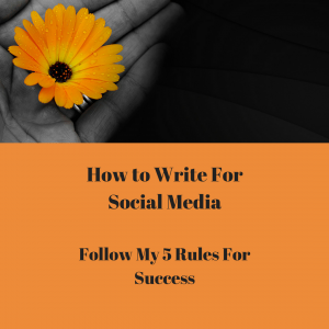 5 steps to success in writing for Social Media