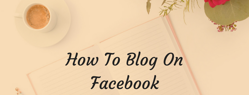 Using Facebook for your blog