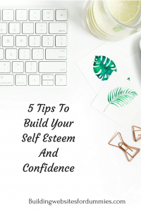 Confidence building for bloggers