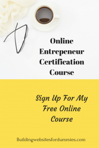 Free Online blog Course
