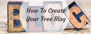 Free blog or website