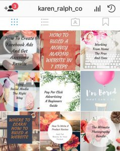 Instagram feed advice