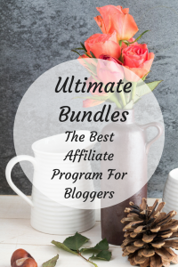 Try Ultimate Bundles. The Best Affiliate Program For Bloggers