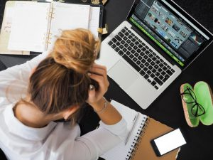 Bloggers Get Stressed And Suffer Overwhelm