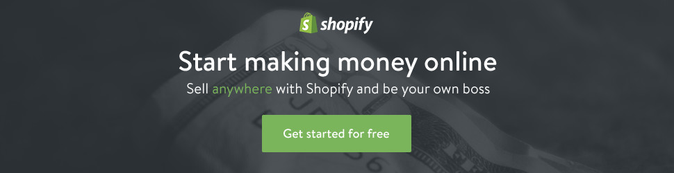 Sell on Shopify free traial