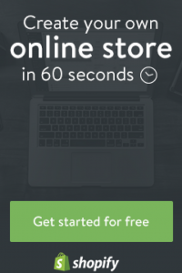 Shopify - Create Your Own Online Store Even If You Dont Have A Product