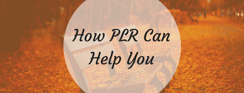 PLR Can Help You With Content Writing