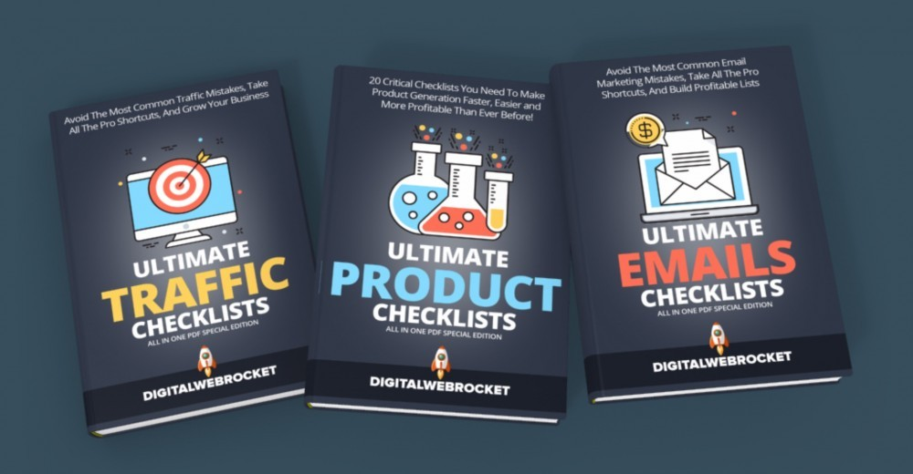 Tools For Affiliate Marketing - Ultimate Checklists