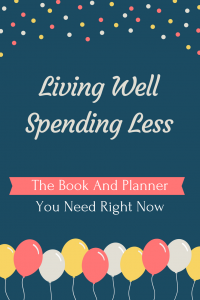 Living Well Spending Less - My New Discovery
