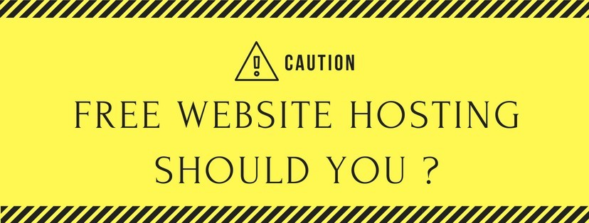Website And Hosting For Free - Why You Are Making A Big Mistake