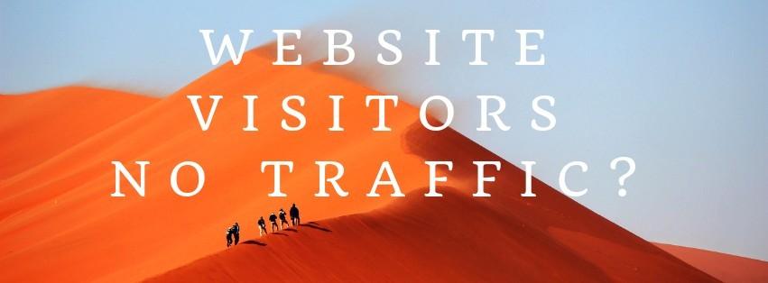 Website Visitors, No Sales? Heres Why