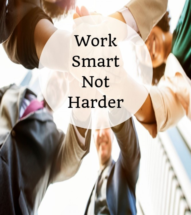 Work Harder Not Smarter? - I Don't Think So