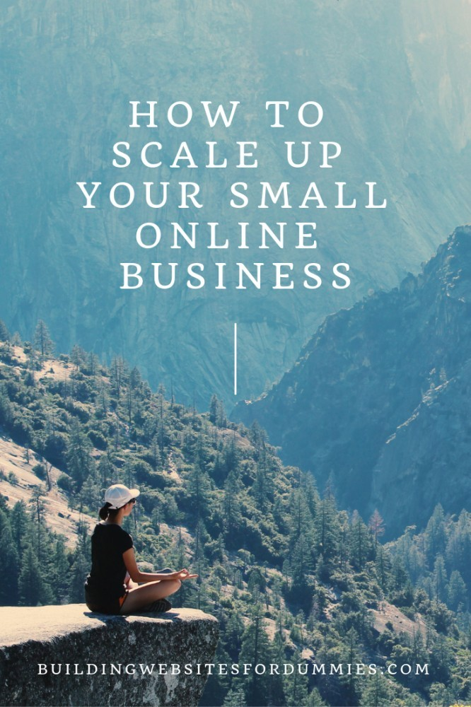 How to Build A Small Online Business - Time To Scale Up ?